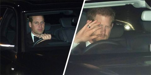 Quick question: Why do the royals always drive to parties?