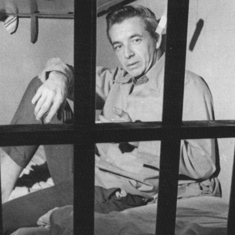 William Joseph Pierce Sitting Behind Bars