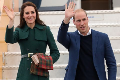 William and Kate's royal tour