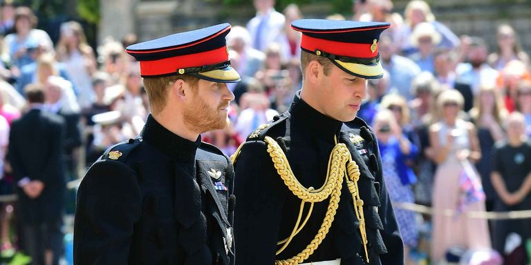 Prince William Matched Prince Harrys Blues And Royals Dress Uniform