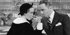 Maureen O'Sullivan and William Powell Star in The Thin Man