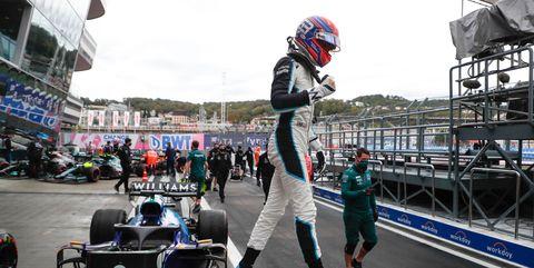 george russell clasifica tercer en el gran premio de rusia