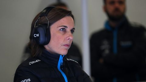 williams deputy team principal claire williams during day
