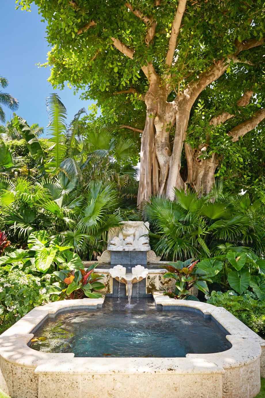 williams lawrence outdoor fountain veranda