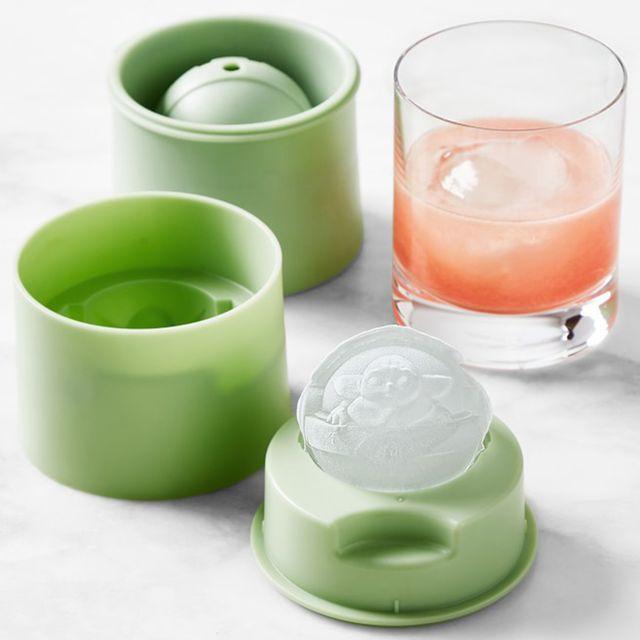 zoku 'star wars the mandalorian' baby yoda ice molds