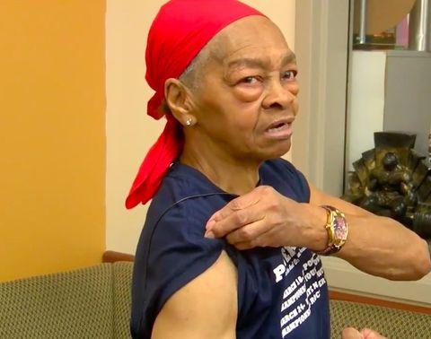 82-year-old beats up burglar