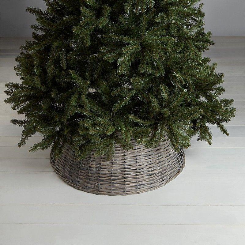 Best Christmas Tree Skirts - Wicker Christmas Tree Skirts, Gold, Silver,  Faux Fur - Best Christmas Tree Skirts - Wicker Christmas Tree Skirts, Gold