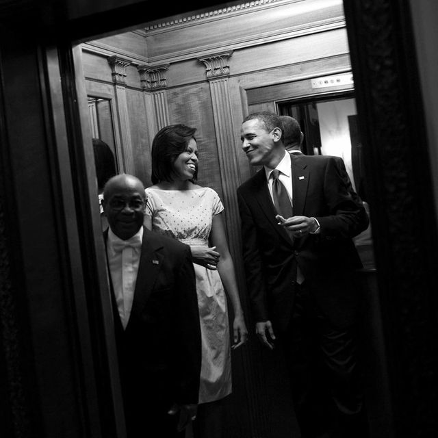 wilson roosevelt jerman with the obamas