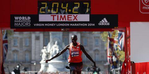 Wilson Kipsang Wins London