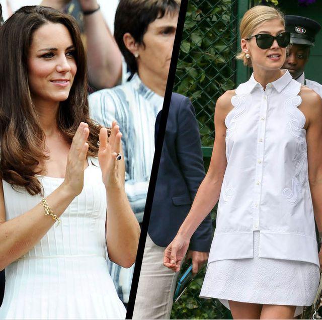 Wimbledon celebrity style