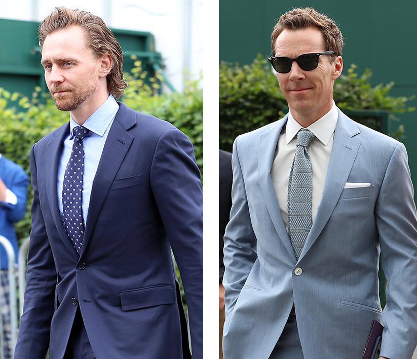 Tom Hiddleston And Benedict Cumberbatch Were Wimbledon's Real Winners