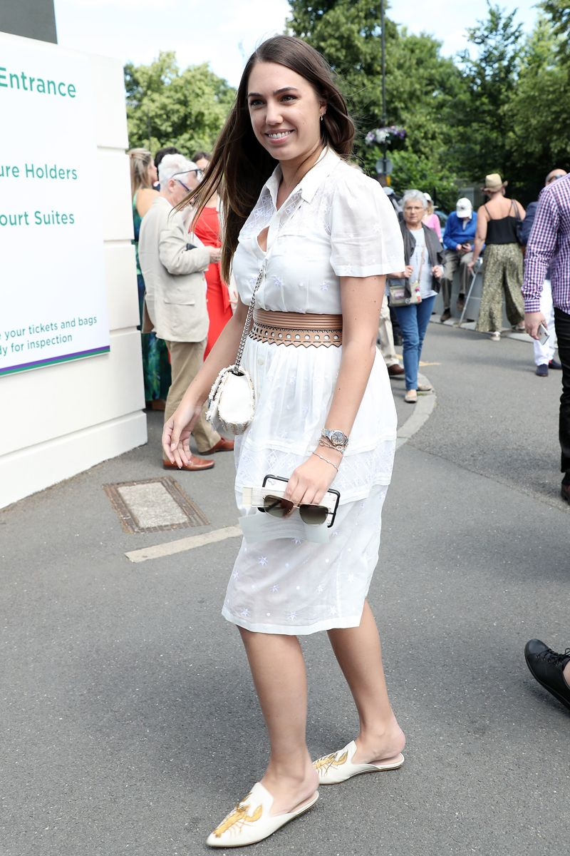 Amber Le Bon Nude wimbledon 2019: the best dressed celebrities at wimbledon