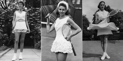 Wimbledon fashion through the ages
