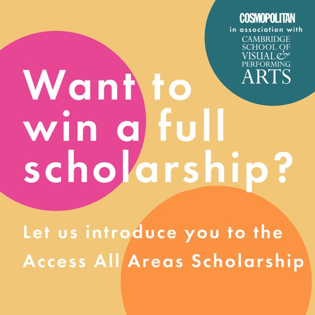 win a full scholarship