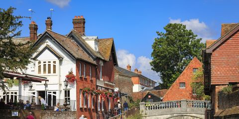 Winchester in Hampshire, England