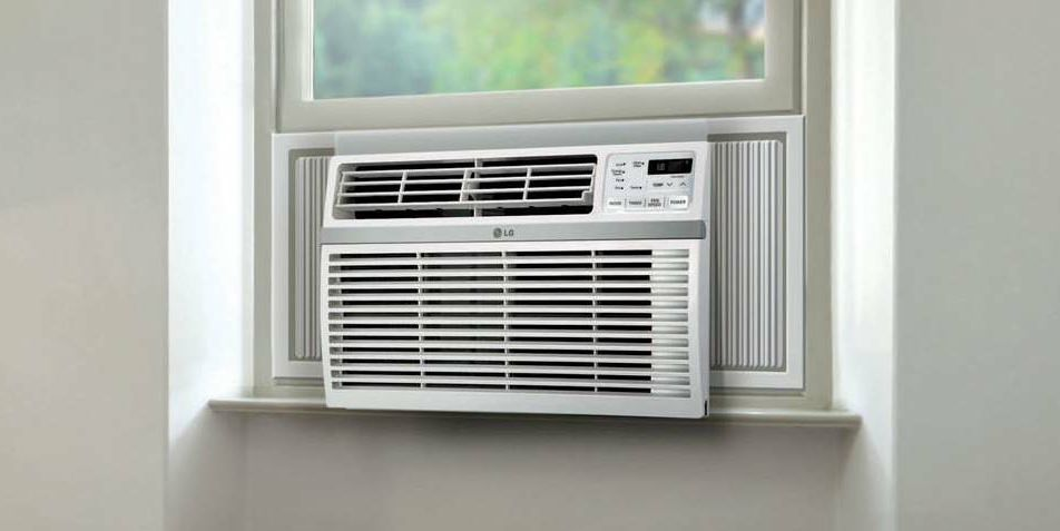 lg 6000 btu low profile window air conditioner