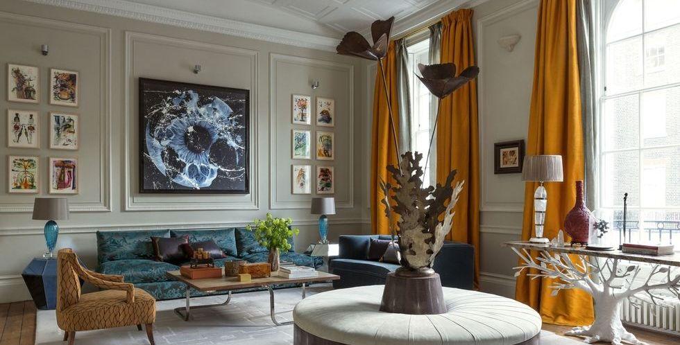 55 Best Living Room Curtain Ideas - Elegant Window Treatments