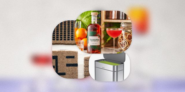 kasama rum, revival doormats, simplehuman compost caddy