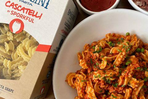 cascatelli pasta by sporkful