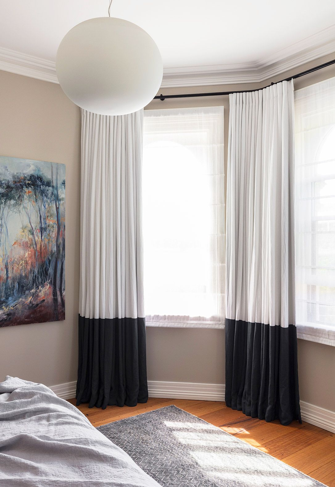 House Beautiful & 35 Best Window Treatment Ideas - Modern Window Coverings ...
