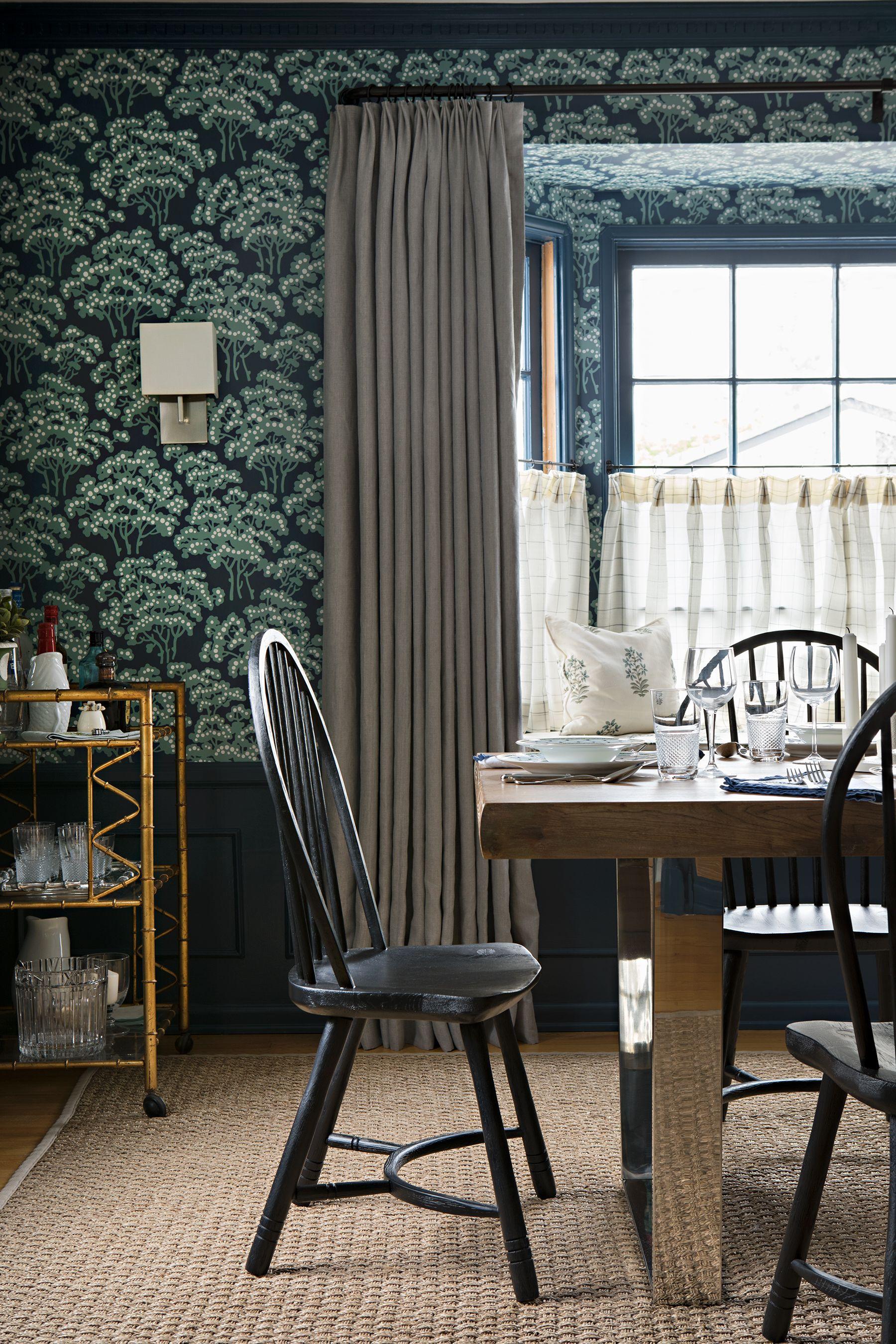 Merveilleux Dining Room Window Treatment Ideas