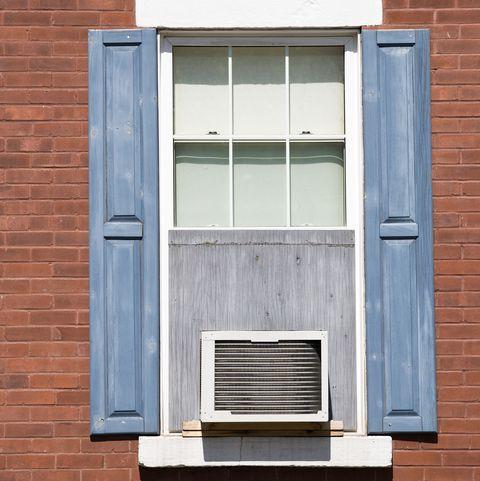 Window-unit air conditioner