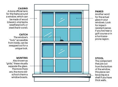anatomi jendela