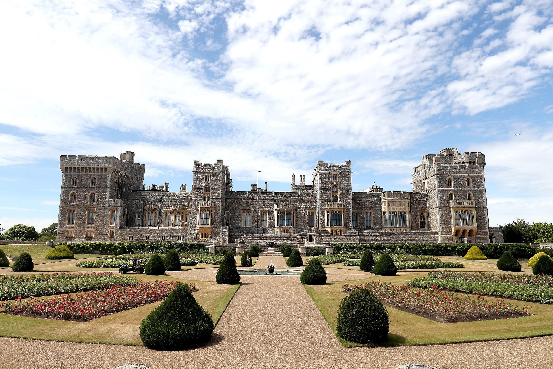 Windsor Castle's Terrace Garden is open to the public this weekend
