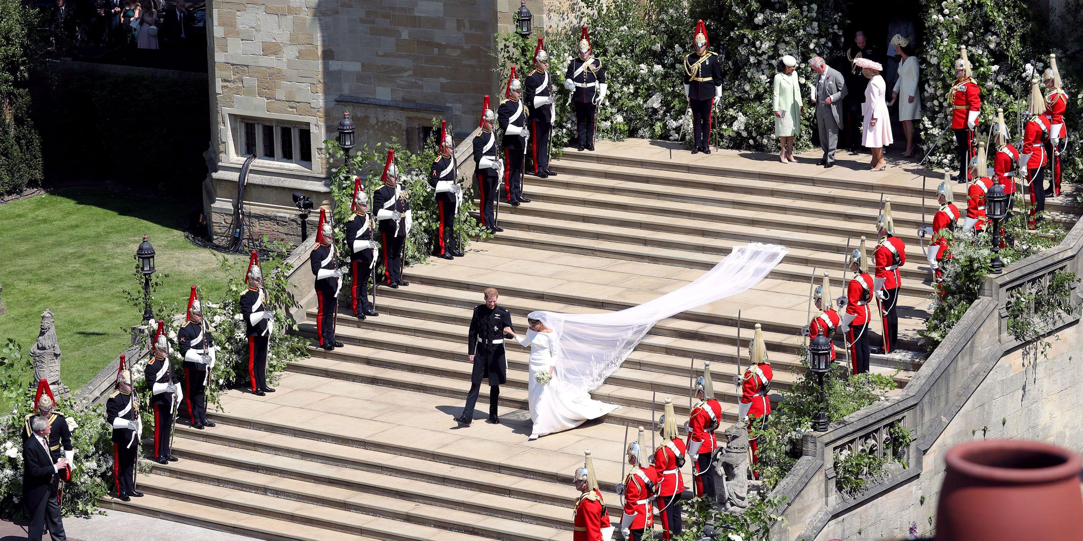 Windsor Castle - royal wedding