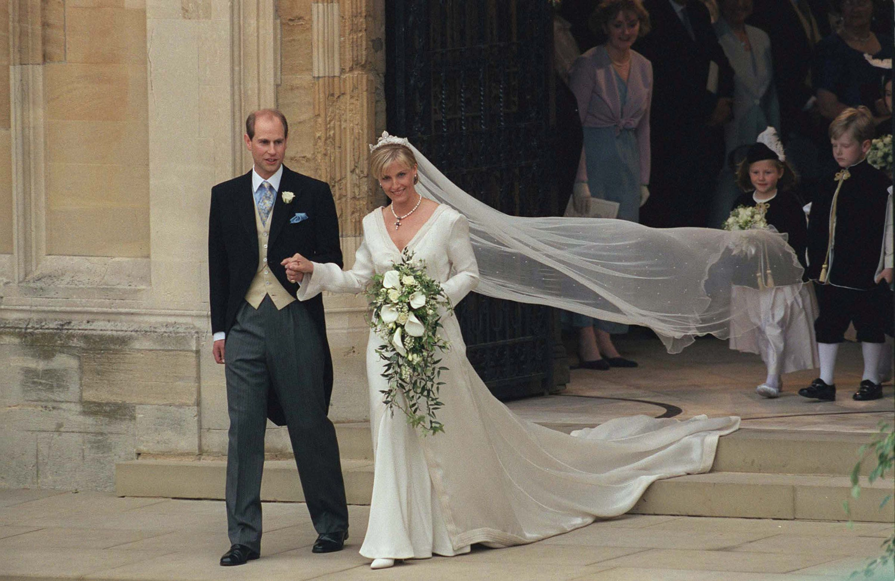 The History Of Royal Weddings At St Georges Chapel At Windsor Castle