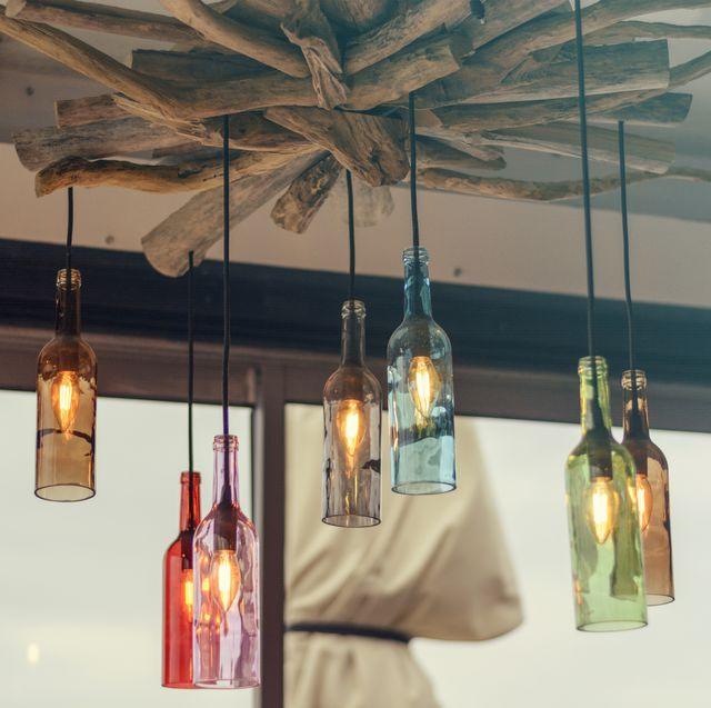 35 Diy Wine Bottle Crafts Empty Wine Bottle Decoration Ideas