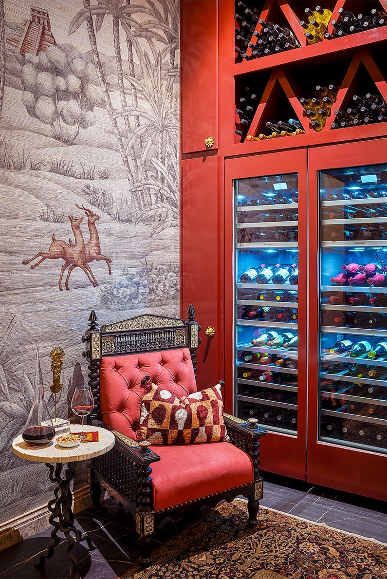 15 Designer Wine Cellar Ideas, Wine Rack Ideas Living Room