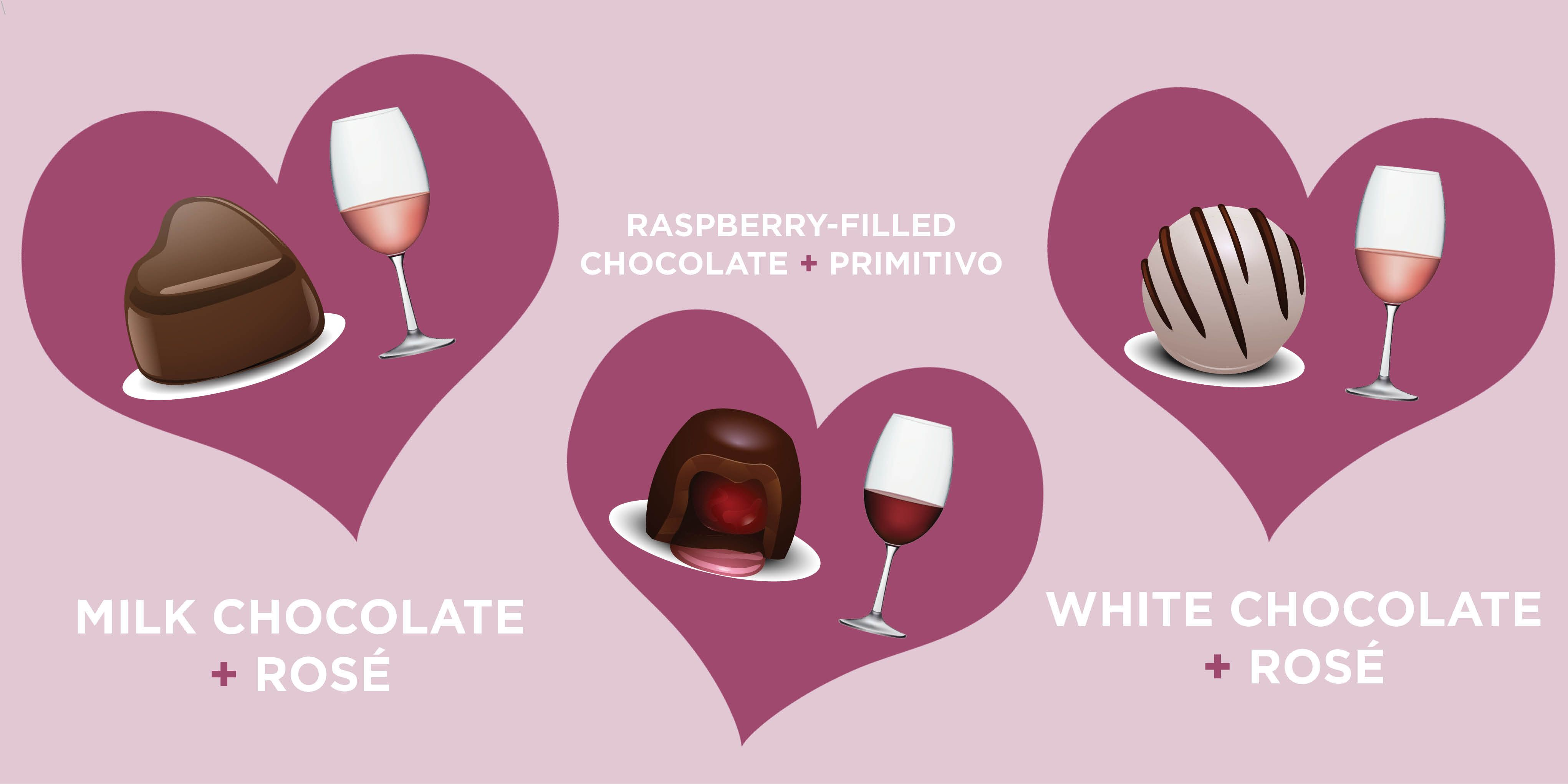 Valentine S Day Chocolate And Wine Pairings How To Pair Wine And