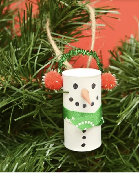 25 Diy Snowman Ornaments How To Make Snowman Ornaments For
