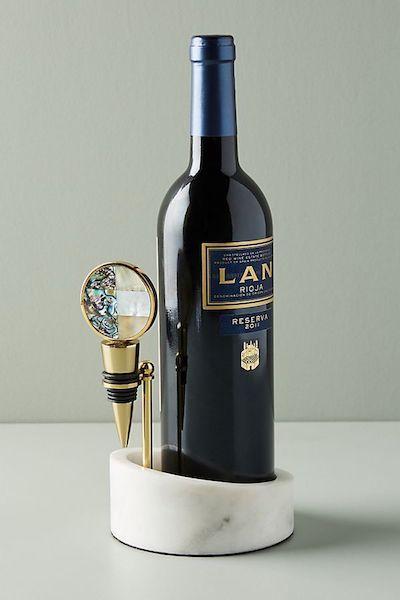 Gift Ideas For Women Marble Wine Valet