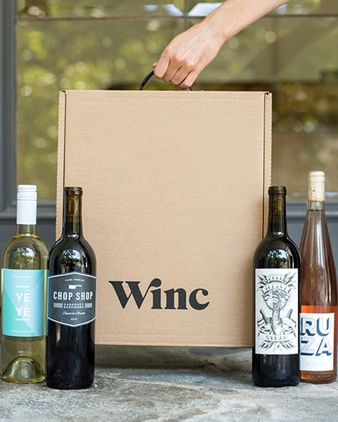 wine subscription box winc