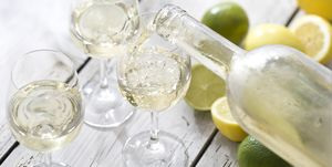 Wine with Citrus Flavour