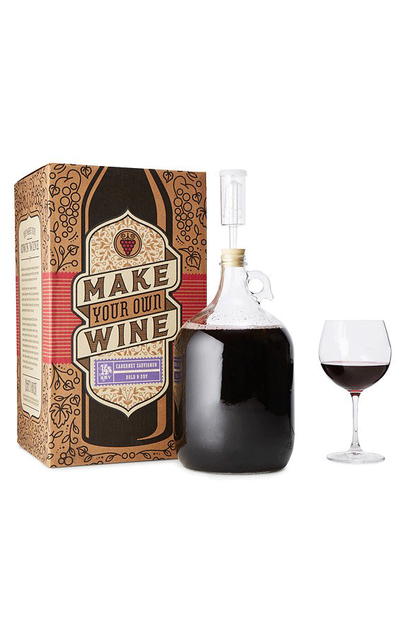 Motheru0027s Day Wine Gifts for Her - Cabernet Sauvignon Wine Making Kit  sc 1 st  Good Housekeeping & 15 Best Wine Gifts for Her - 15 Motheru0027s Day Gifts for Moms Who Love ...