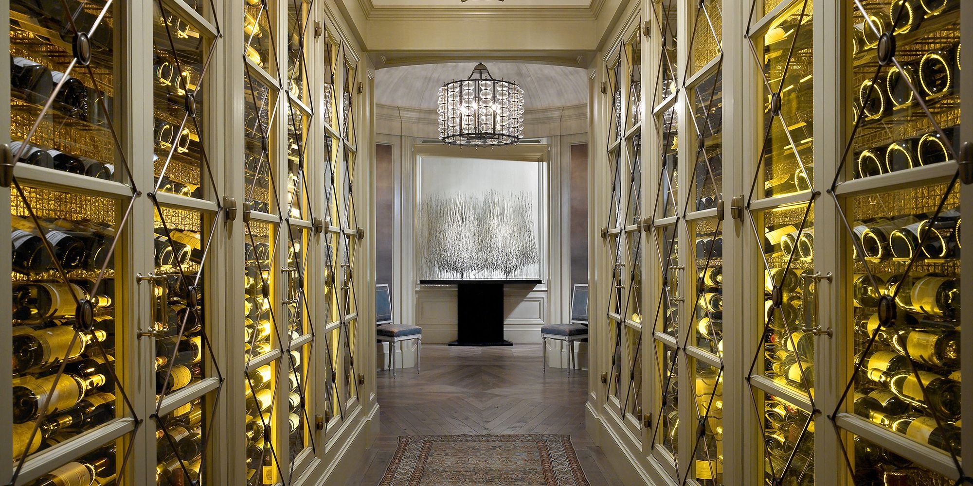 24 Stunning Wine Rooms and Displays