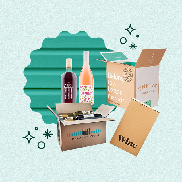 wine subscription boxes and wine bottles