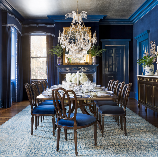 10 Pantone Inspired Classic Blue Rooms Blue Decorating Ideas