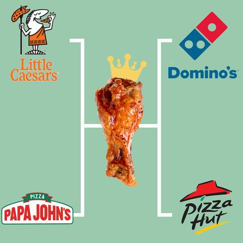 Logo, Junk food, Font, Banner, Advertising, Brand, Graphics, Fried chicken, Cuisine, Dish,