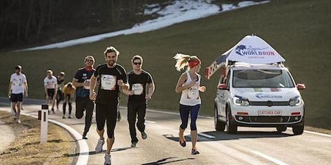 Wings for Life World Run Catcher Car
