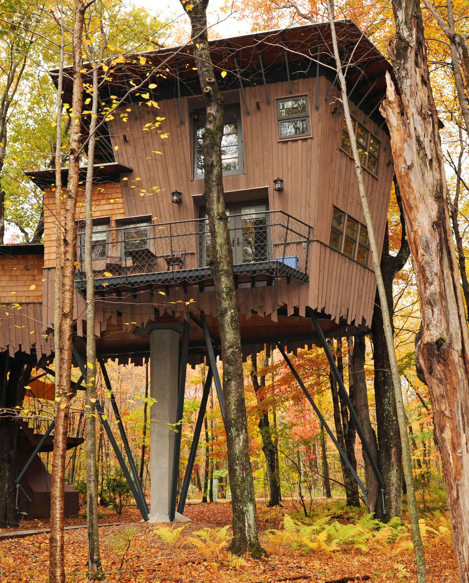 Winivan Farm treehouse
