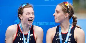 Jessica Learmonth y Georgia Taylor-Brown,descalificadas en el triatlón test event de Tokio 2020