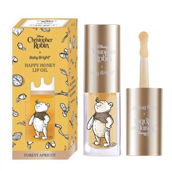 泰國人氣開架品牌BabyBright竟然推出小熊維尼蜂蜜護唇油
