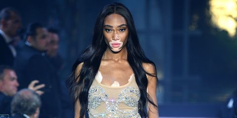 "Image result for victoria""s secret 2018 winnie harlow"
