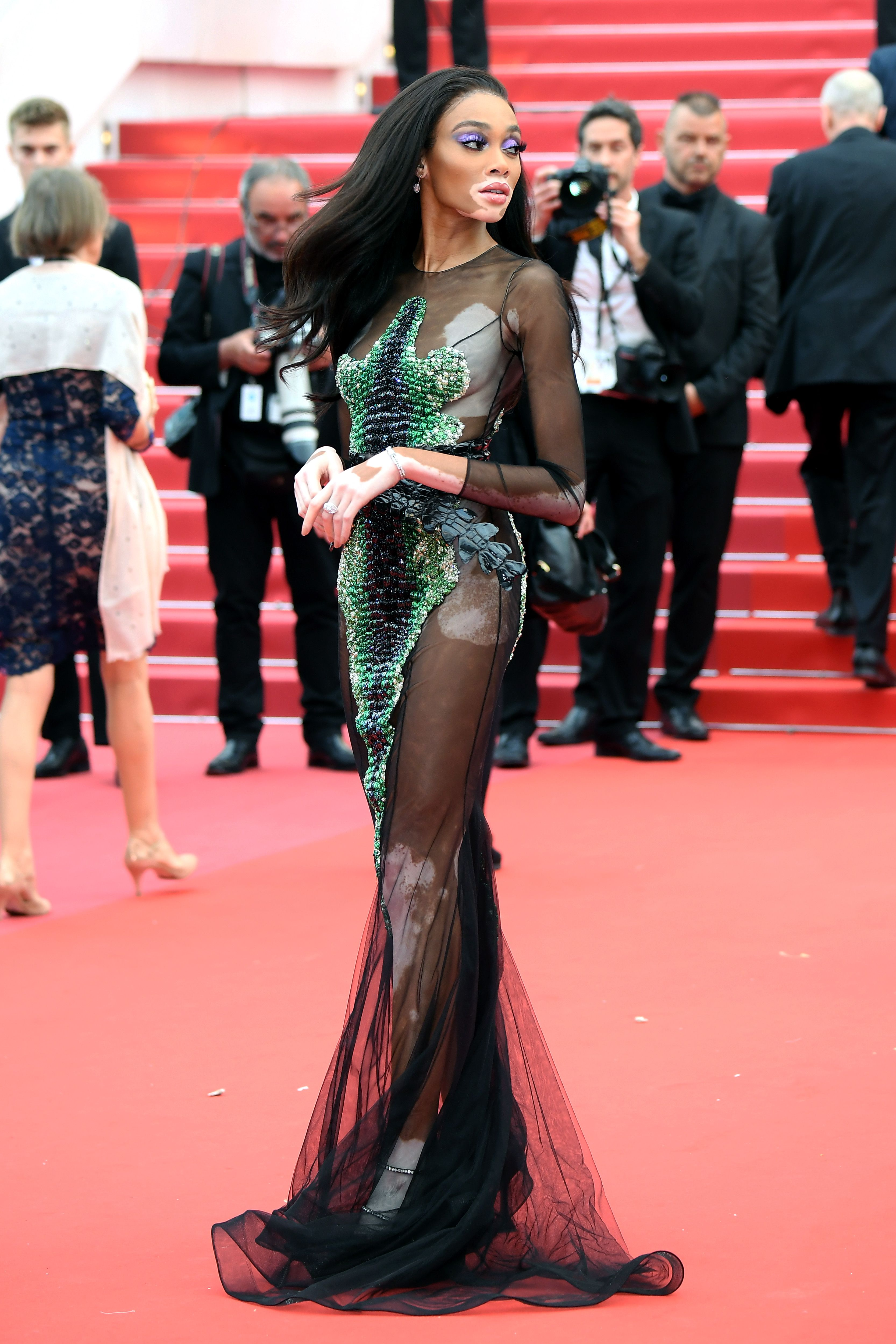The Most Naked Red Carpet Looks at Cannes Film Festival