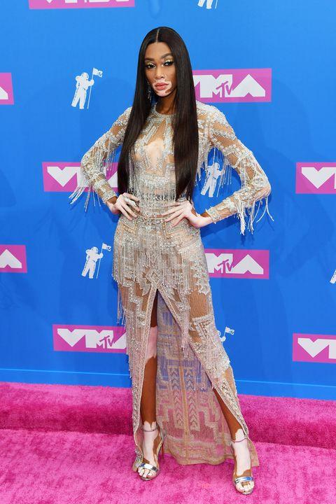 Vmas Most Naked Dresses 2018 Mtv Video Music Award Sheer