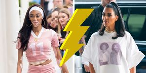 Who wore it better Kim Kardashian Winnie Harlow